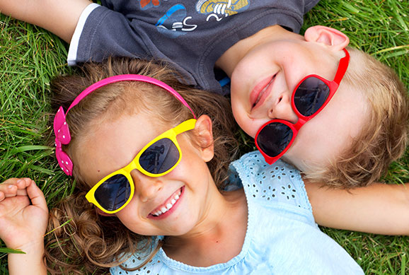 Kids with Sunglasses - Pediatric Dentist in Bayside, NY